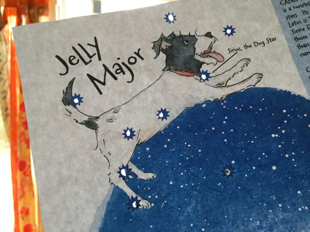 Penny & Jelly Stargazing Activity Sheet