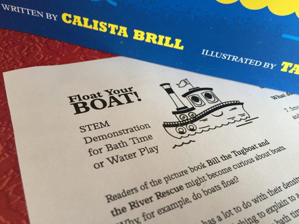 tugboat bill and the river rescue stem story hour kit curious