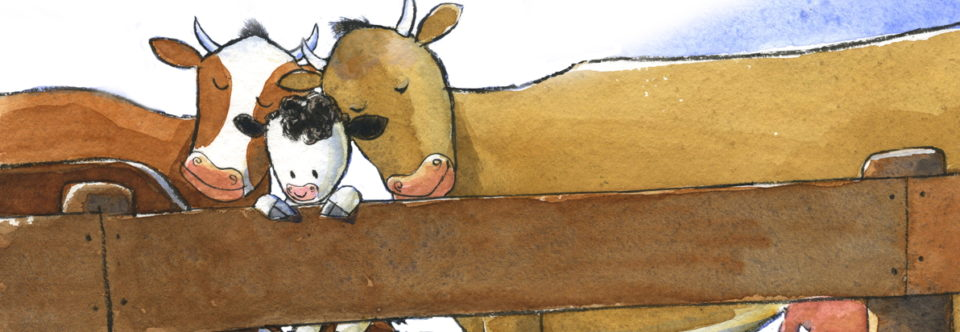 Raisin, the Littlest Cow: Story Hour Kit