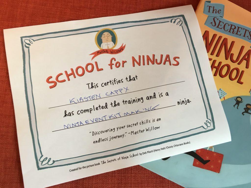 The Secrets of Ninja School: Event Kit | Curious City DPW
